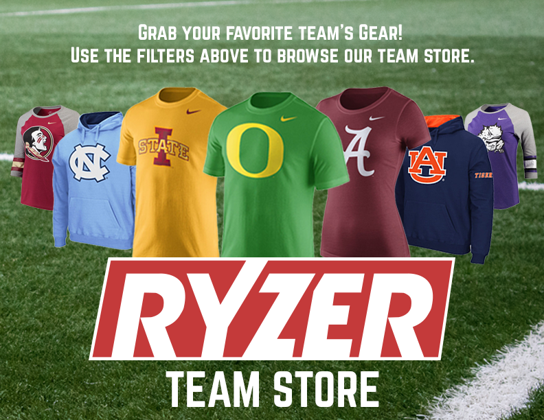 Grab your favorite team's gear! Use the filters above to browse our team store.